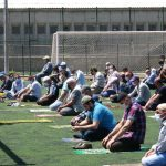 Tokat'ta Cuma namazını stadyumda kılındı