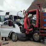 Tokat'taki kazada ölü sayısı 2'ye yükseldi